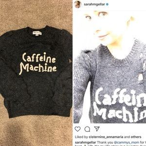 Wildfox Caffeine Machine sweater